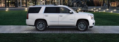 Color Visualizer for the 2015 GMC Yukon Denali - Summit White 27