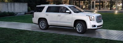 Color Visualizer for the 2015 GMC Yukon Denali - Summit White 30