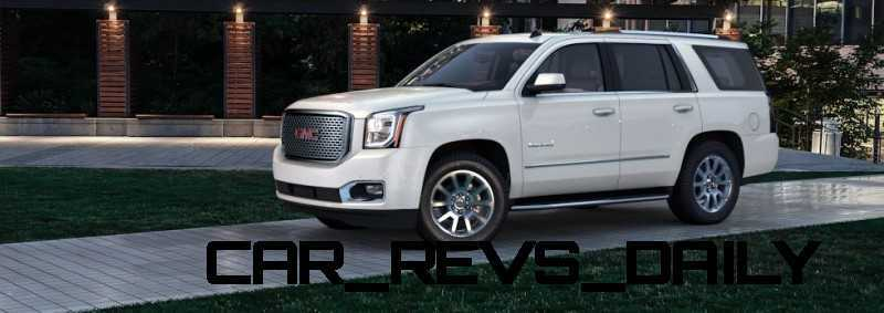Color Visualizer for the 2015 GMC Yukon Denali - Summit White 4