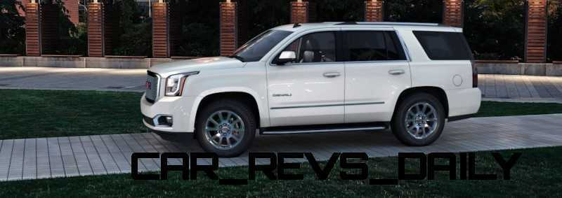 Color Visualizer for the 2015 GMC Yukon Denali - Summit White 6