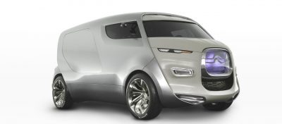 Concept Flashback - 2011 Citroen Tubik Brings Delightful Shapes of 1930's Tub Vans 10