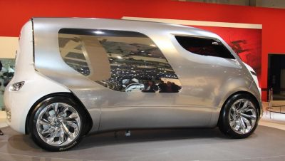Concept Flashback - 2011 Citroen Tubik Brings Delightful Shapes of 1930's Tub Vans 4