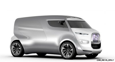Concept Flashback - 2011 Citroen Tubik Brings Delightful Shapes of 1930's Tub Vans 5