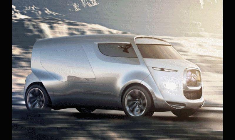 Concept Flashback - 2011 Citroen Tubik  GIF