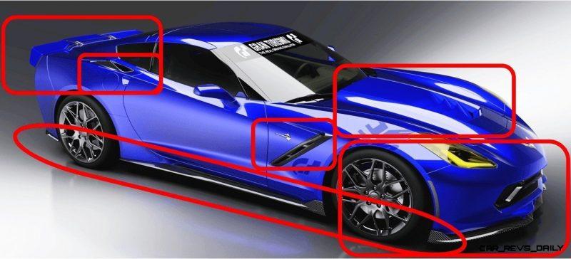 Corvette GT6 markup