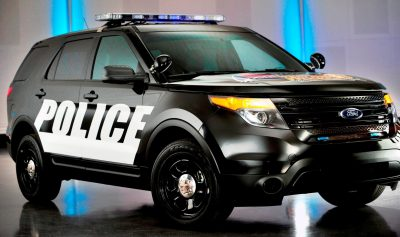 New Ford Police Interceptor Vehicles to Serve as Pace Cars