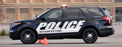 The new Ford Police Interceptor utility