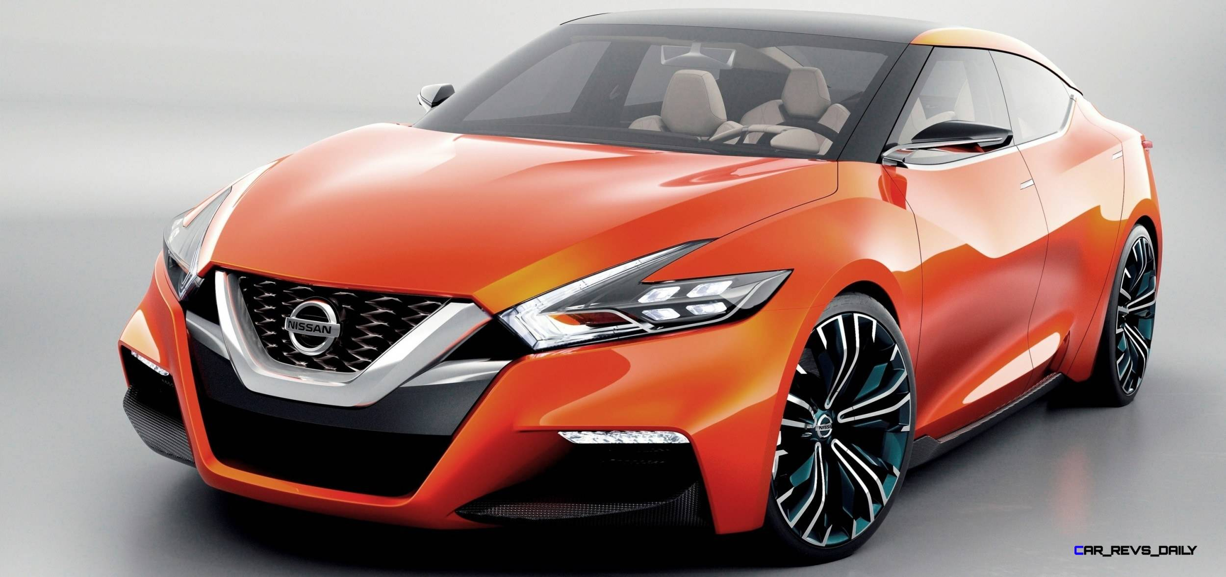 Future Nissan Maxima Concept -- 3.5-in Lower Roof -- 2.1 ...