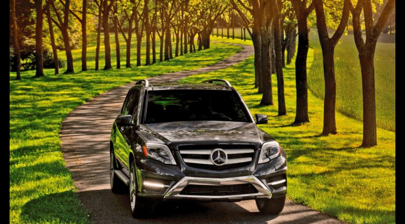 GLK250 Diesel Joins GLK350 - CarRevsDaily.com Animated GIF