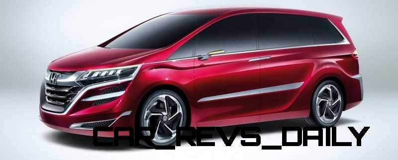 Honda Jade and Concept M from Shanghai 2013 Likely No-Shows in Detroit 1