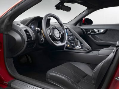 Jaguar Makes a WINNER! 2015 F-type Coupe INTERIOR4