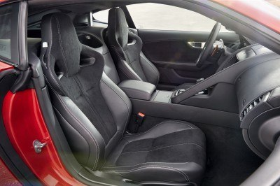 Jaguar Makes a WINNER!  2015 F-type Coupe INTERIOR6