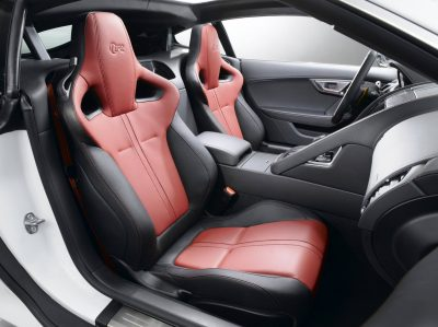 Jaguar Makes a WINNER! 2015 F-type Coupe INTERIOR9