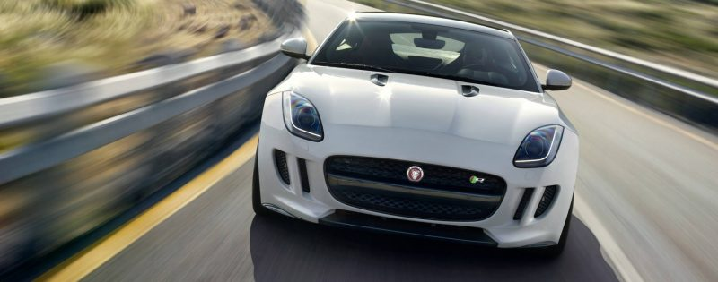 Jaguar Makes a WINNER!  2015 F-type R Coupe Debut7