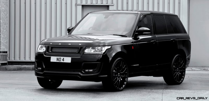 KAHN 600LE Upgrades for Current Range Rover Are Very Special and Available for U.S. Owners 28
