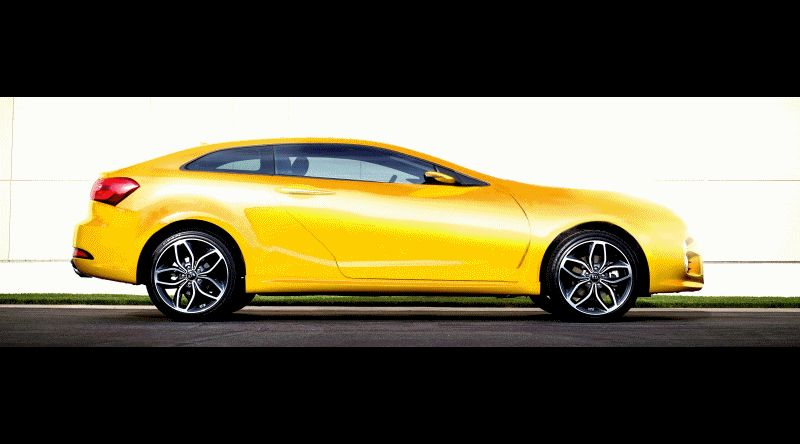 KIA GT4 Stinger Coupe to Pack 316HP Renderings GIF