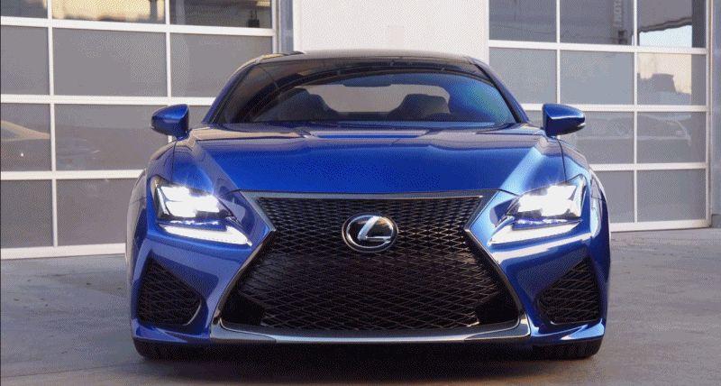 Lexus RC F GIF