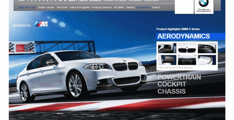 M Performance Catalog 535i and M3 GIF