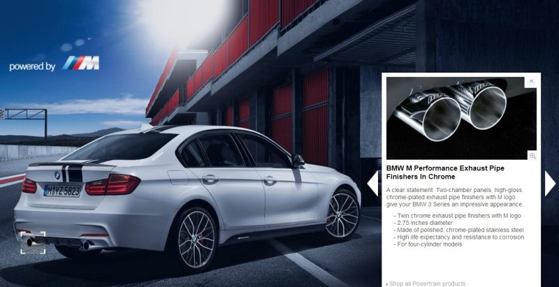 M Performance Catalog Offers Hundreds of Ways to Up the Drama and Road Presence of 335i, 535i, M3 and even the X5 and X6 10