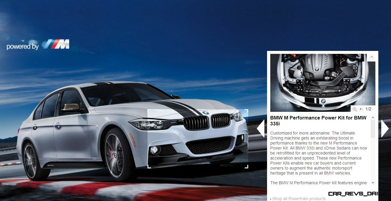M Performance Catalog Offers Hundreds of Ways to Up the Drama and Road Presence of 335i, 535i, M3 and even the X5 and X6 11