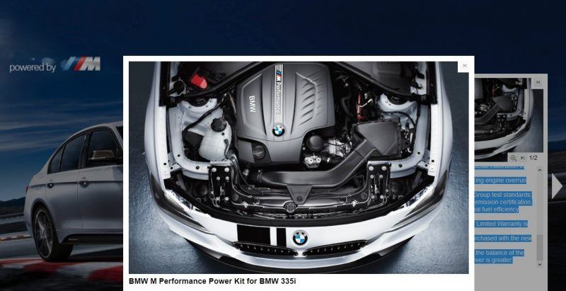 M Performance Catalog Offers Hundreds of Ways to Up the Drama and Road Presence of 335i, 535i, M3 and even the X5 and X6 13