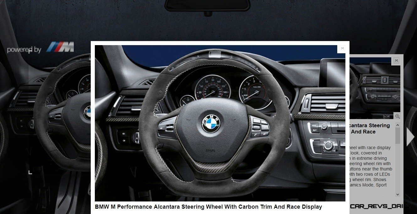 M Performance Catalog Offers Hundreds of Ways to Up the Drama and Road Presence of 335i, 535i, M3 and even the X5 and X6 15