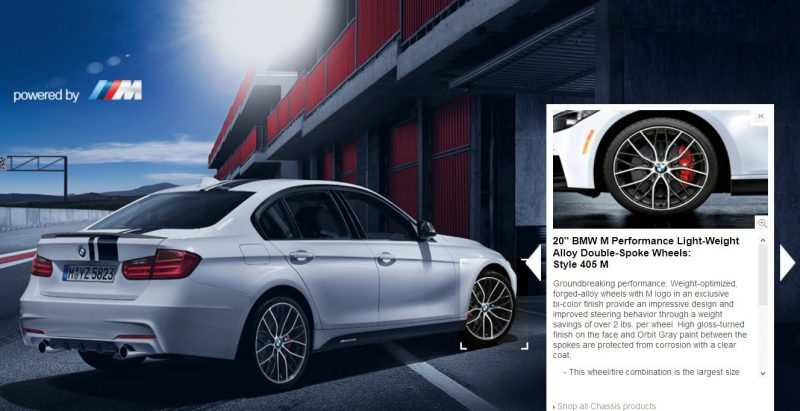 M Performance Catalog Offers Hundreds of Ways to Up the Drama and Road Presence of 335i, 535i, M3 and even the X5 and X6 16