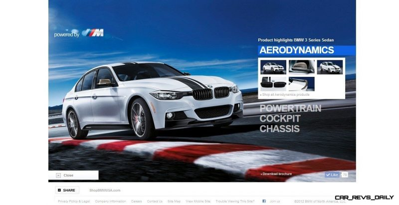 M Performance Catalog Offers Hundreds of Ways to Up the Drama and Road Presence of 335i, 535i, M3 and even the X5 and X6 2