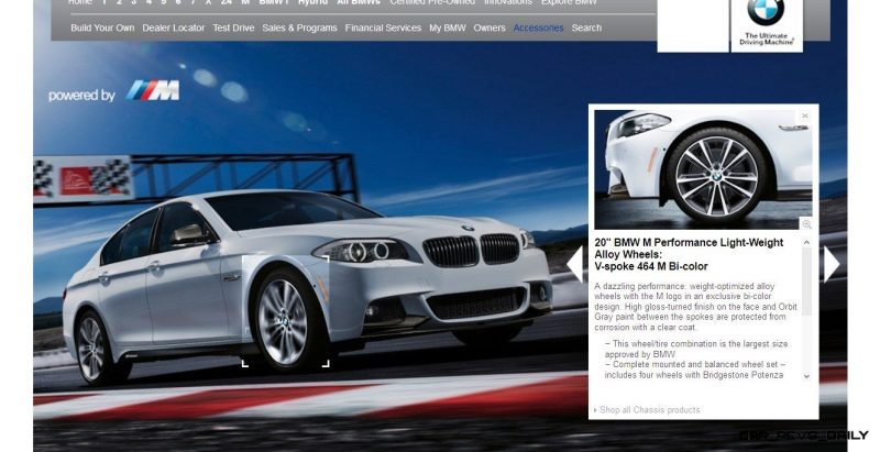 M Performance Catalog Offers Hundreds of Ways to Up the Drama and Road Presence of 335i, 535i, M3 and even the X5 and X6 30