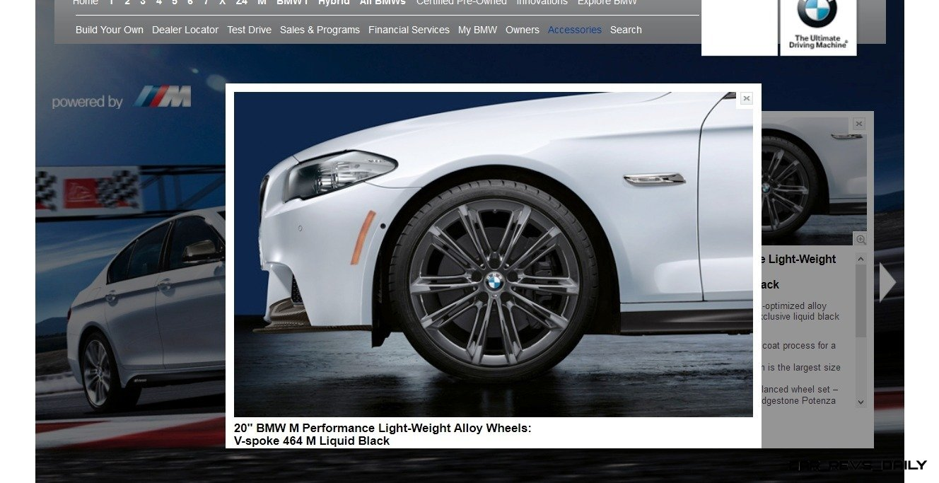 M Performance Catalog Offers Hundreds of Ways to Up the Drama and Road Presence of 335i, 535i, M3 and even the X5 and X6 32