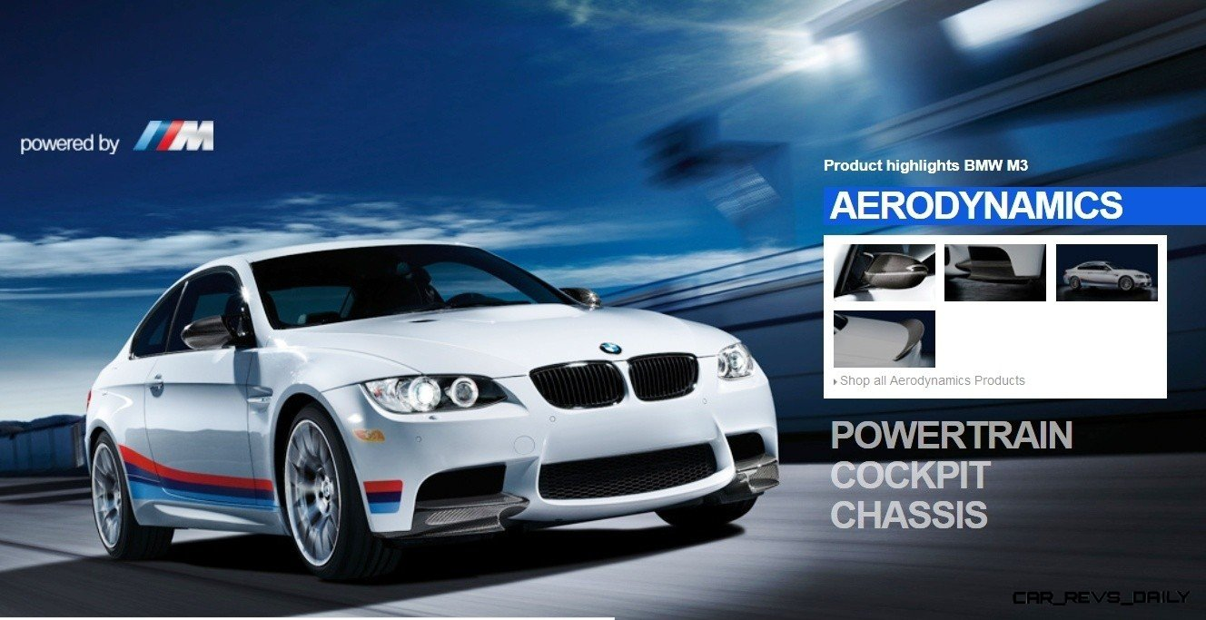 M Performance Catalog Offers Hundreds of Ways to Up the Drama and Road Presence of 335i, 535i, M3 and even the X5 and X6 34