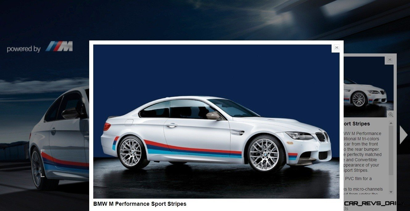 M Performance Catalog Offers Hundreds of Ways to Up the Drama and Road Presence of 335i, 535i, M3 and even the X5 and X6 35
