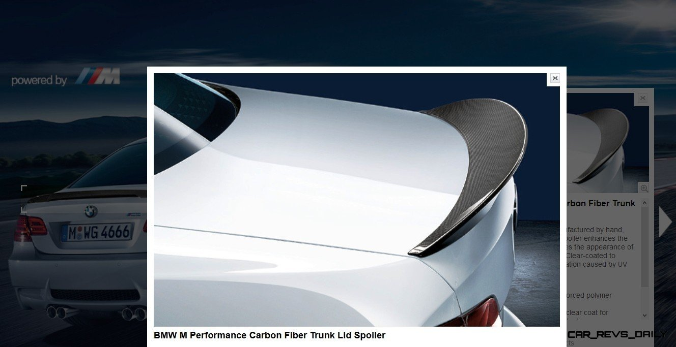 M Performance Catalog Offers Hundreds of Ways to Up the Drama and Road Presence of 335i, 535i, M3 and even the X5 and X6 37