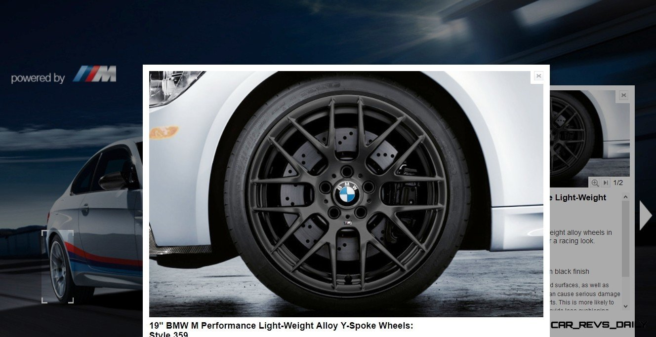M Performance Catalog Offers Hundreds of Ways to Up the Drama and Road Presence of 335i, 535i, M3 and even the X5 and X6 40