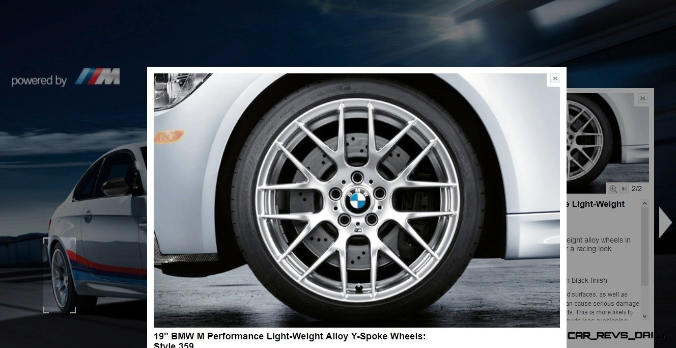 M Performance Catalog Offers Hundreds of Ways to Up the Drama and Road Presence of 335i, 535i, M3 and even the X5 and X6 41