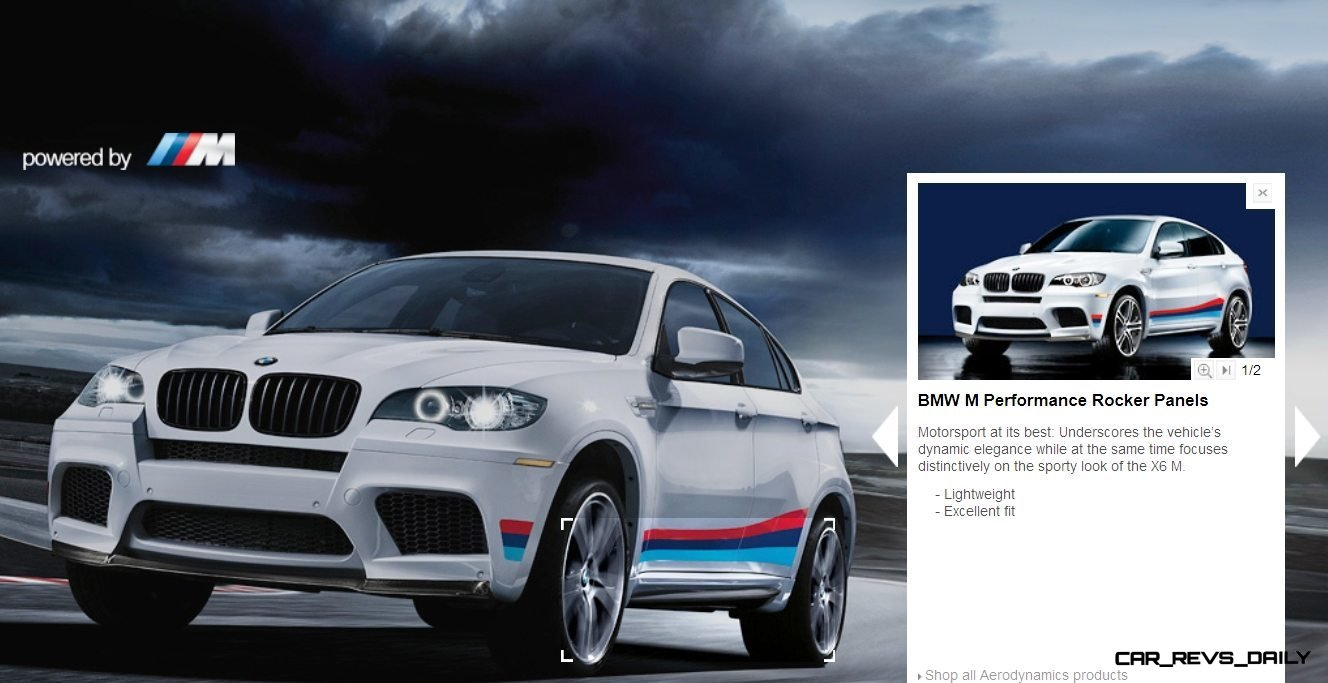 M Performance Catalog Offers Hundreds of Ways to Up the Drama and Road Presence of 335i, 535i, M3 and even the X5 and X6 43