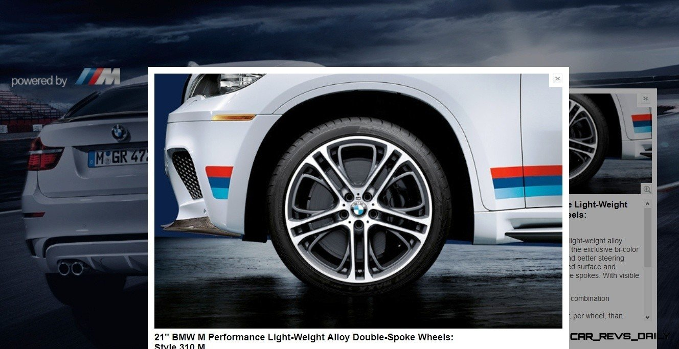 M Performance Catalog Offers Hundreds of Ways to Up the Drama and Road Presence of 335i, 535i, M3 and even the X5 and X6 45