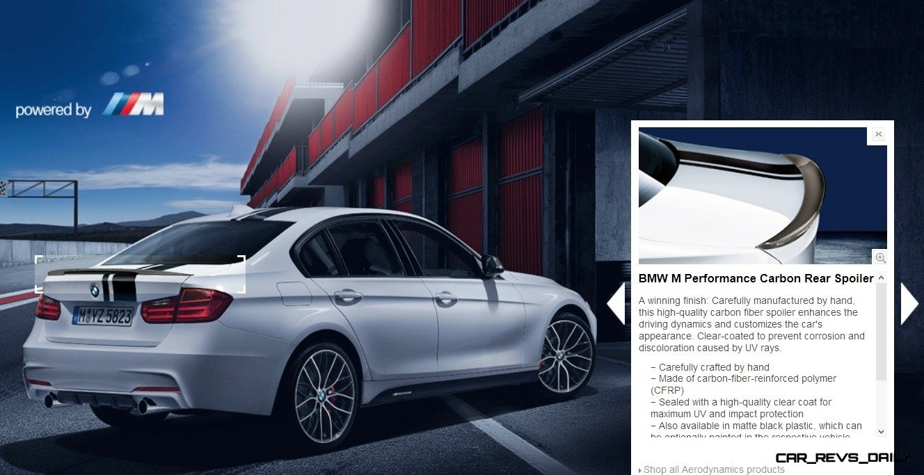 M Performance Catalog Offers Hundreds of Ways to Up the Drama and Road Presence of 335i, 535i, M3 and even the X5 and X6 7