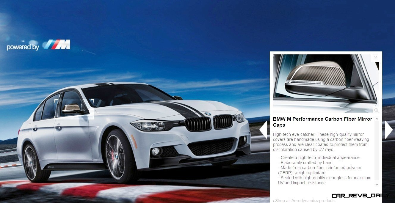 M Performance Catalog Offers Hundreds of Ways to Up the Drama and Road Presence of 335i, 535i, M3 and even the X5 and X6 9