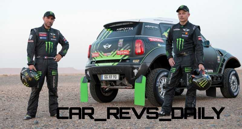 MINI Poised for Dakar Three-Peat with All4 Countryman Squad 21