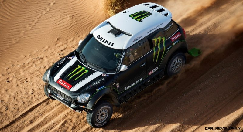MINI Poised for Dakar Three-Peat with All4 Countryman Squad 25