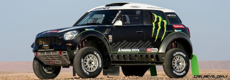 MINI Poised for Dakar Three-Peat with All4 Countryman Squad 26