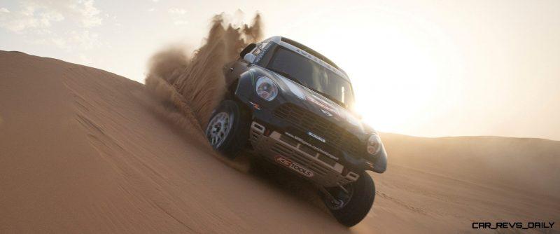 MINI Poised for Dakar Three-Peat with All4 Countryman Squad 28