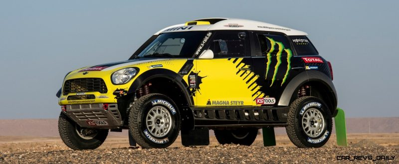 MINI Poised for Dakar Three-Peat with All4 Countryman Squad 30