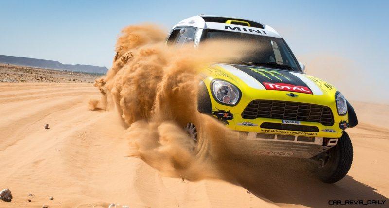 MINI Poised for Dakar Three-Peat with All4 Countryman Squad 33