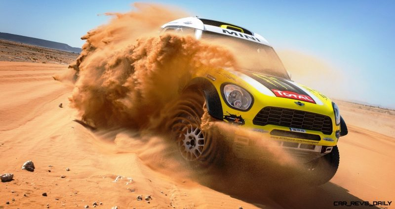 MINI Poised for Dakar Three-Peat with All4 Countryman Squad 34