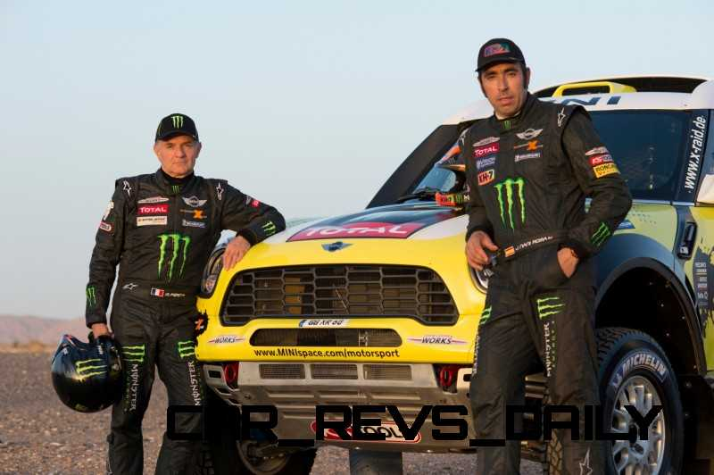 MINI Poised for Dakar Three-Peat with All4 Countryman Squad 36