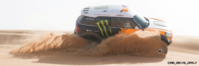 MINI Poised for Dakar Three-Peat with All4 Countryman Squad 39
