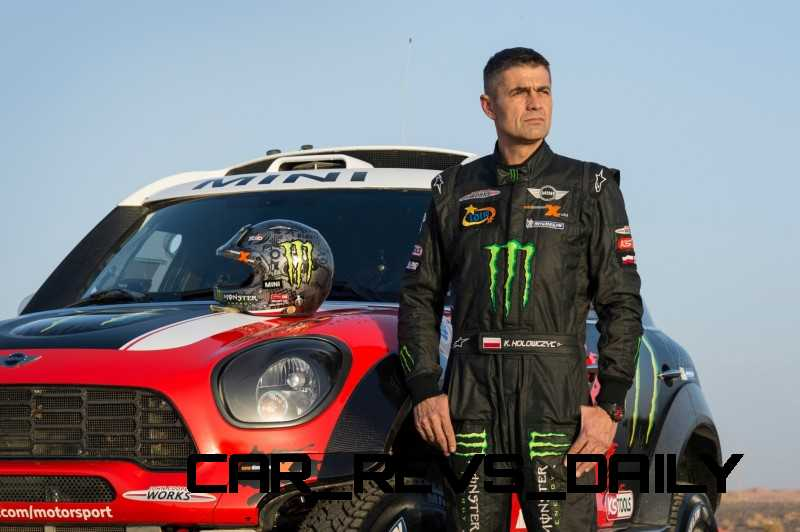 MINI Poised for Dakar Three-Peat with All4 Countryman Squad 40