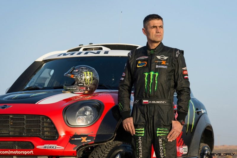 MINI Poised for Dakar Three-Peat with All4 Countryman Squad 40